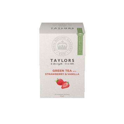 Чай зеленый 'Taylors of Harrogate' Клубника с ванилью 20 пак.