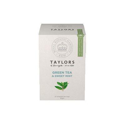 Чай зеленый 'Taylors of Harrogate' Со сладкой мятой 20 пак.