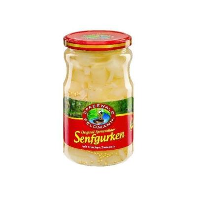Огурцы очищенные 'Spreewald Feldmann' в горчичном маринаде