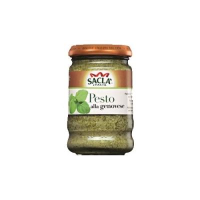 Соус Песто 'SACLA' Классический для макарон с базиликом
