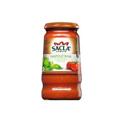 Соус 'SACLA' Неаполетана с цельными томатами Черри и базиликом