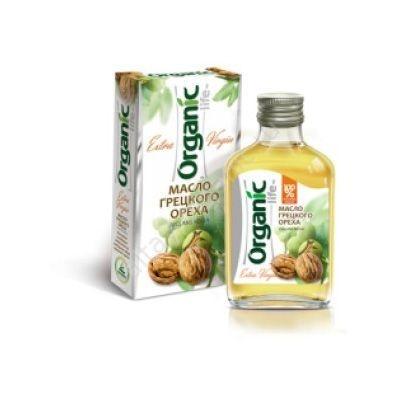 Масло 'Organic life' грецкого ореха
