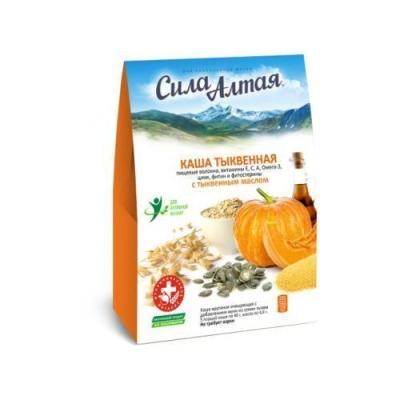 Каша тыквенная 'Сила Алтая' очищающая с добавлением муки из семян тыквы с тыквенным маслом