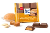 Шоколад молочный Риттер Спорт Карамельный мус