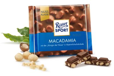Шоколад молочный Риттер Спорт Макадамия