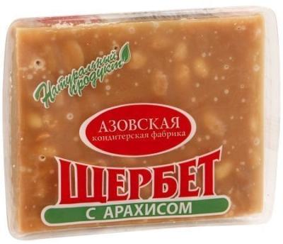 Щербет Азовская кондитерская фабрика с арахисом