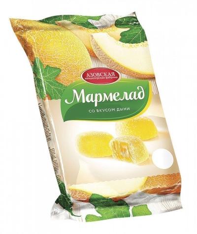 Мармелад Азовская кондитерская фабрика Спелая дыня