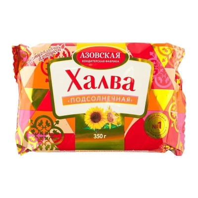 Халва Азовская кондитерская фабрика подсолнечная