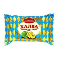 Халва Азовская кондитерская фабрика подсолнечная с изюмом