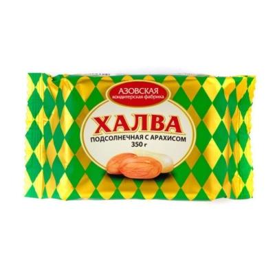 Халва Азовская кондитерская фабрика с арахисом