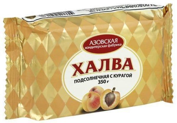 Халва Азовская кондитерская фабрика с курагой