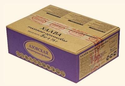 Халва Азовская кондитерская фабрика тахинно-арахисовая
