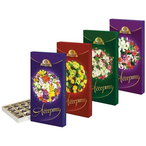 Шоколадный набор Бабаевский Ассорти (букеты)