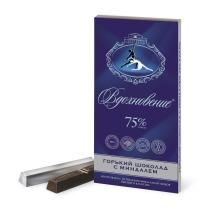 Шоколад Бабаевский Вдохновение элитный миндаль 75% какао