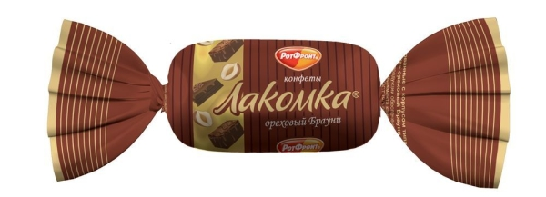 Конфеты Воронежская КФ Лакомка ореховый брауни