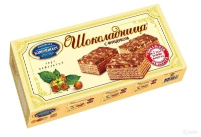 Торт Коломенское Шоколадница с фундуком