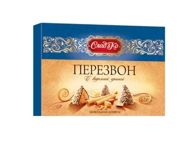 Шоколадный набор Славянка Перезвон в вафельной крошке