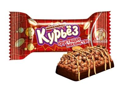 Конфеты Славянка Курьёз хрустящее лакомство шоколадный