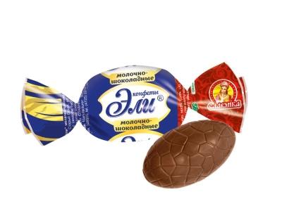 Конфеты Славянка Эли в молочном шоколаде