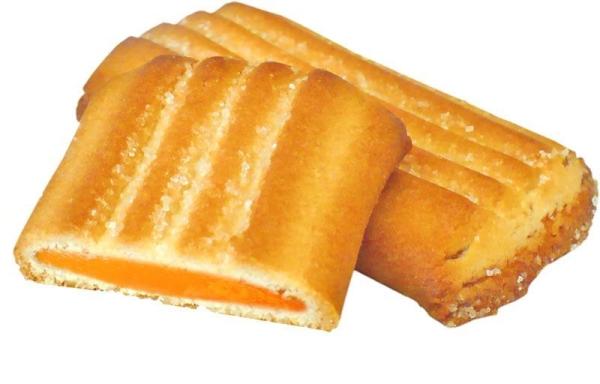 Печенье Белогорье Аллегро с абрикосовой начинкой