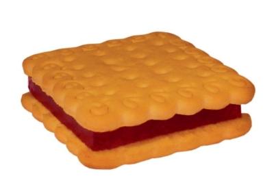 Печенье Белогорье Везелица постное с мармеладом