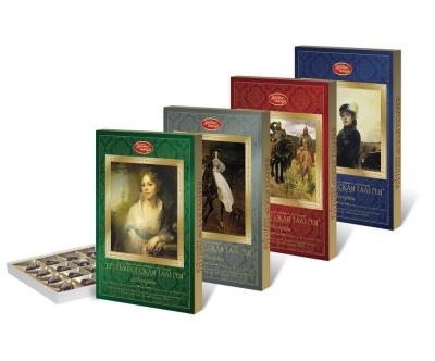 Шоколадный набор Красный Октябрь Третьяковская галерея