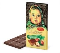 Шоколад Красный Октябрь Алёнка с фундуком