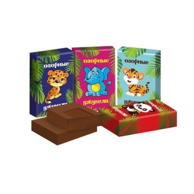 Шоколад Невский кондитер Озорные джунгли