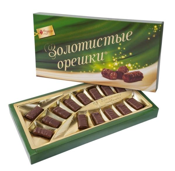 Шоколадный набор Пензенская КФ Золотистые орешки