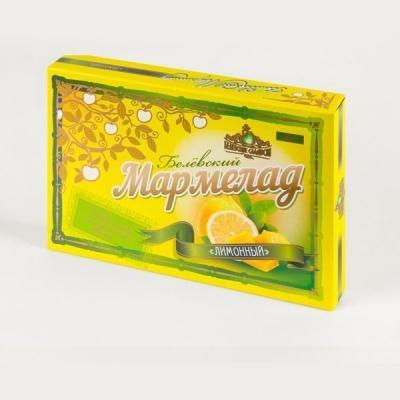 Мармелад Белевский лимонный