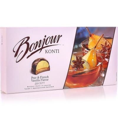 Десерт Конти вкус груша с французской ванилью