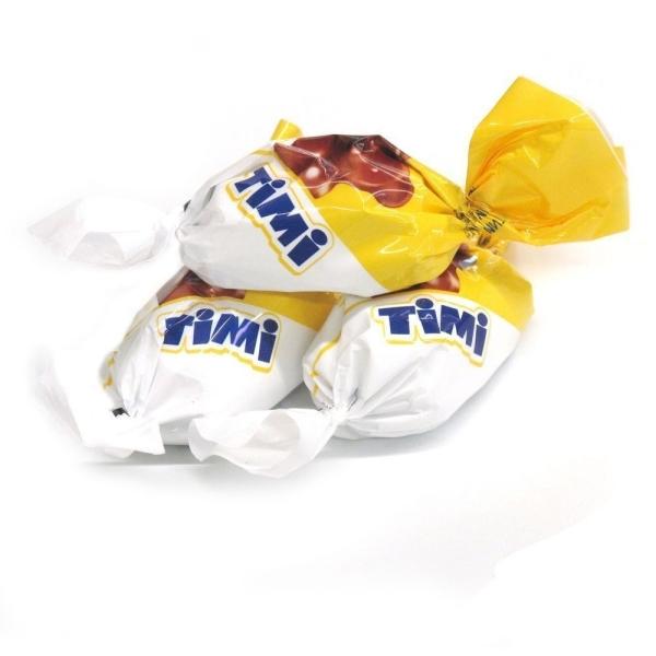 Конфеты Конти Тими сливки банан (Шоколадный город)