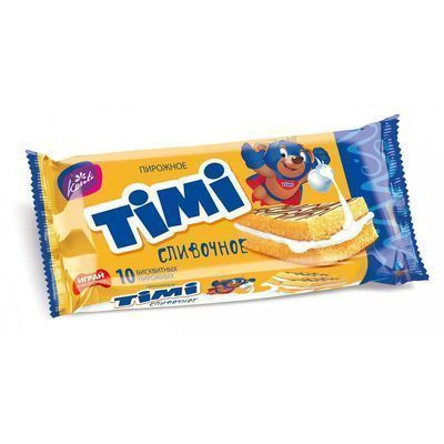 Пирожное Конти Тими сливочное А