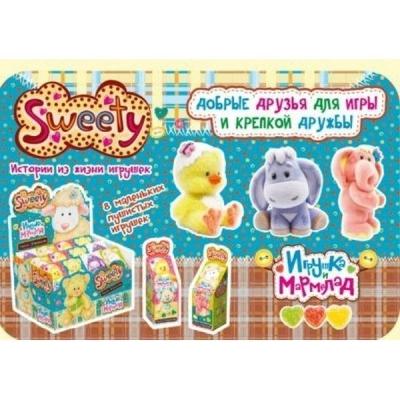 Жевательный мармелад + игрушка Маленькое чудо 1 (Sweety) Fresh Toys