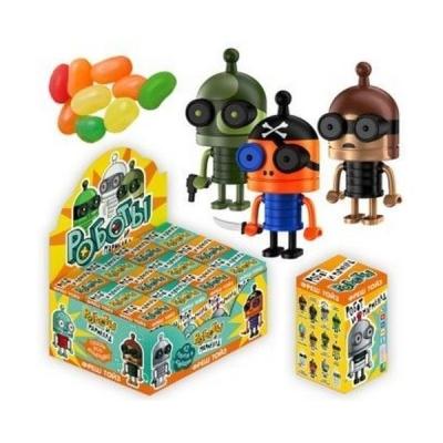 Жевательный мармелад + игрушка Роботы Fresh Toys