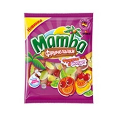 Мармелад жевательный Мамба Фрукты и йогург