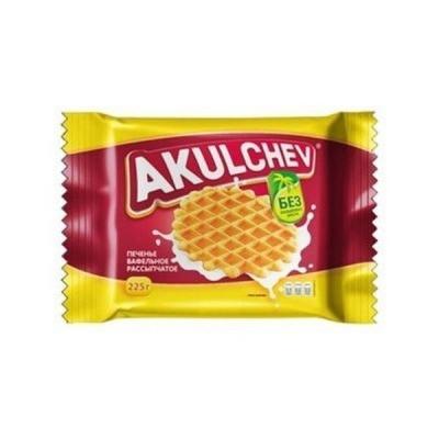 Печенье сахарное Акуличев Вафельное рассыпчатое