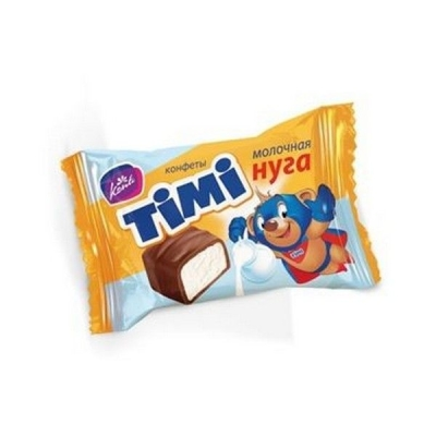 Конфеты Конти ТИМИ молочная нуга
