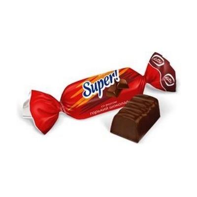 Конфеты Конти СУПЕР! (SUPER!) со вкусом горького шоколада