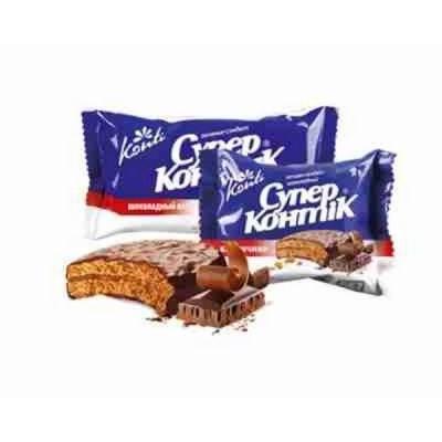 Печенье Супер-Контик шоколадный вкус