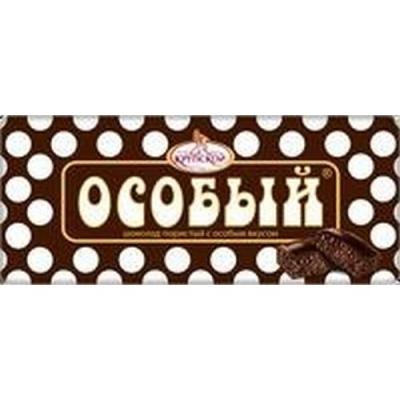 Шоколад Славянка Пористый темный