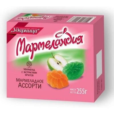 Мармелад Ударница Мармеландия Мармеладное ассорти мармелад