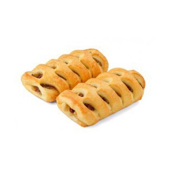 Печенье Колос Плетенка с яблоком, корицей и изюмом