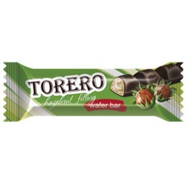 Вафельные батончики Тореро с ореховой начинкой в глазури