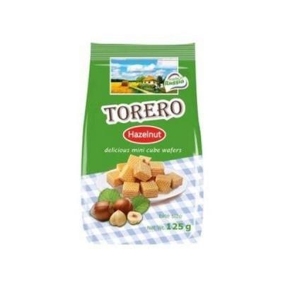 Мини-вафли Нежные Тореро с орехом