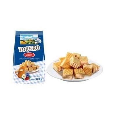 Мини-вафли Нежные Тореро со сливочным ароматом