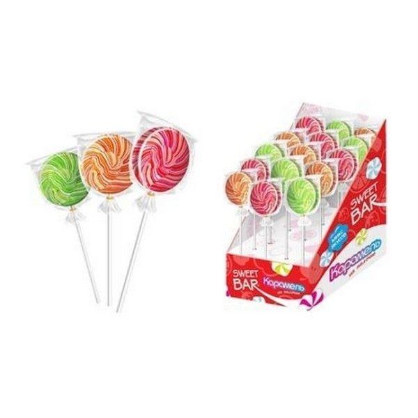 Карамель-твист Sweet Bar на палочке в полимерном пакете
