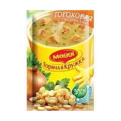 Суп Магги Горячая кружка гороховый с сухариками