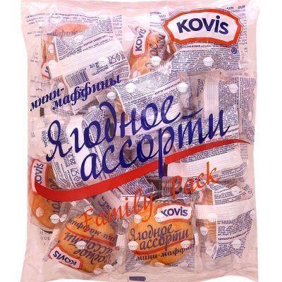Мини-маффины Kovis (Ковис) ягодное ассорти