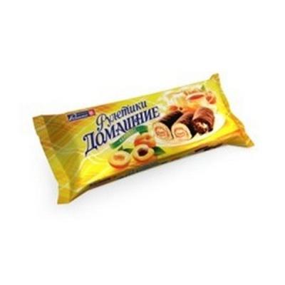Мини-рулетики Раменский Домашние Абрикос в шоколаде
